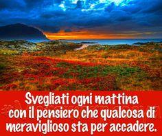 Buona Domenica by Metamorphosya - La filosofia del cambiamento  #Metamorphosya #buongiorno #svegliarsi #mattina #pensiero #meraviglioso