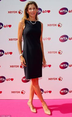 Monica Seles, 41: The nine time Grand Slam winner pictured in 2013; she told People she wants to help others and that is why she is doing a public service announcement