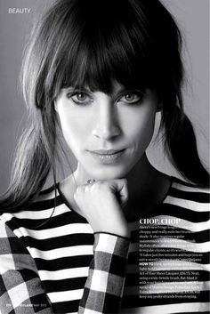 Alexa Chung by Albert Giordan for Marie Claire UK May 2013