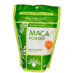 Navitas Naturals, Organic, Maca Powder, Raw Maca Powder, 16 oz (454 g) - iHerb.com  ________________________________  Great for libido, energy and happiness!