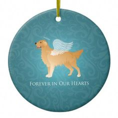 Golden Retriever Angel Dog - Pet Memorial Ceramic Ornament The grief of losing a much-loved dog is never forgotten Golden Retriever Gifts, Dog Rates, Dog Anxiety, Hacks, Dog Agility, Pet Loss, Old Dogs, Hunting Dogs, Pet Memorials