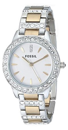 Quick and Easy Gift Ideas from the USA  Fossil Women's ES2409 Jesse Stainless Steel Three Hand Watch - Silver and Gold Two-Tone http://welikedthis.com/fossil-womens-es2409-jesse-stainless-steel-three-hand-watch-silver-and-gold-two-tone #gifts #giftideas #welikedthisusa