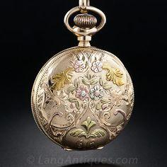 waltham vintage ladies pocket watch - Google Search