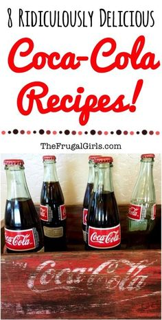 8 Ridiculously Delicious Coca-Cola Recipes! ~ from TheFrugalGirls.com ~ Craving a Coke?  Put your favorite drink to use in these easy recipes your friends and family will love!
