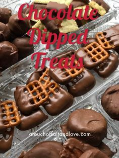 Chocolate Treats - A Touch of Salt and Love Types Of Chocolate, I Love Chocolate, How To Make Chocolate, Chocolate Covered Treats, Chocolate Dipped, Ghirardelli Chocolate, Chocolate Desserts, Desserts To Make, Dessert Recipes
