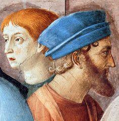 Fra Angelico - Renaissance - La Chapelle Niccoline - Saint Etienne distribuant les Aumônes - Detail