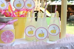 Lemonade Stand {Party