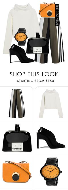 """""""The essential for Halloween!"""" by tiraboschi-b ❤ liked on Polyvore featuring Circus Hotel, Haider Ackermann, COSTUME NATIONAL, Paco Rabanne, Marni and Simplify"""