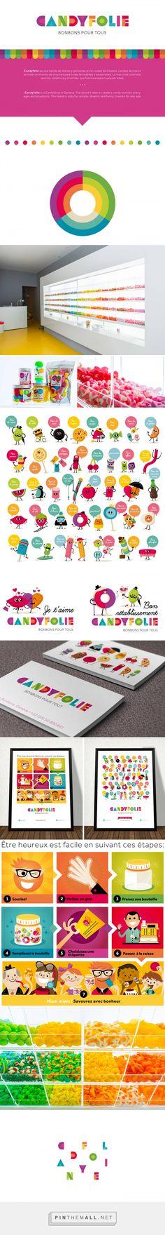 Candyfolie Branding on Behance | Fivestar Branding – Design and Branding Agency & Inspiration Gallery