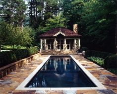 American  Cottage  Pool by Spitzmiller and Norris