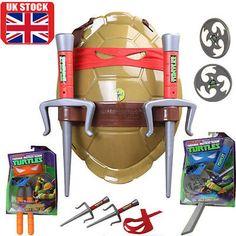 Tmnt teenage mutant #ninja #turtles combat shield shell  #toyweapons set leonardo,  View more on the LINK: http://www.zeppy.io/product/gb/2/152324777581/
