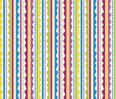 Easter Basset Egg Stripe fabric by robyriker on Spoonflower - custom fabric