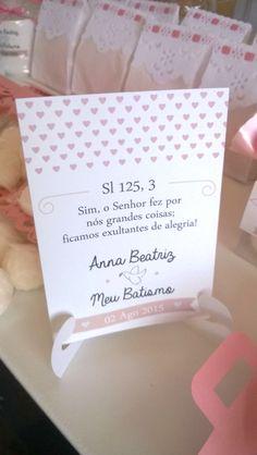 Batizado da Anna Beatriz em 02 de Agosto de 2015.