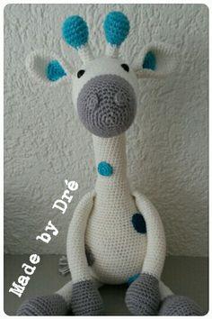 Giraffe Gijs #stipenhaak