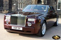 Royal Burgundy Rolls Royce Phantom Photo Gallery from CarsForStars Luxury Car Hire, Luxury Cars, Prom Car, Service Club, Prestige Car, Star Images, Rolls Royce Phantom, Party Bus, Self Driving
