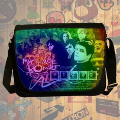 NEW HOT!!! My Chemical Romance Messenger Bag, Laptop Bag, School Bag, Sling Bag for Gifts & Fans #01