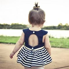 We are proud to showcase our fresh-off-the-drawing-board catalogue of exciting.   Like and Tag if you like this Nautical Stripe Dress.  Tag a BFF who would like our huge range of kids clothes! FREE Shipping Worldwide.  Why wait? Buy it here---> https://www.babywear.sg/princess-infant-newborn-baby-girls-toddler-tutu-beading-communion-dress-summer-party-beach-backless-striped-pageant-dresses/   Dress up your toddler in quality clothes now!    #bibs