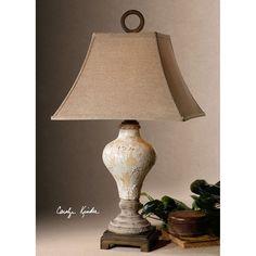 Uttermost Fobello Ivory Table Lamp 26785