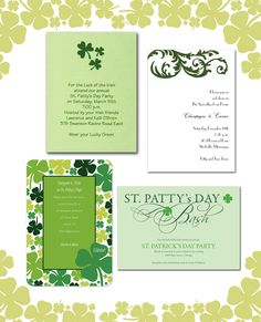St. Patrick's Day Wedding By Fab Blog by InvitationConsultants