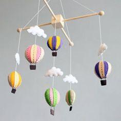 DIY Hot Air Balloon Mobile Pattern
