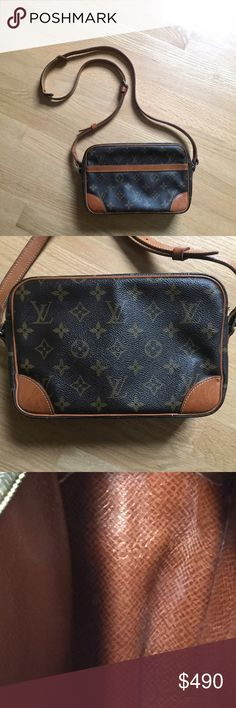 Louis Vuitton Trocadero 27 Authentic vintage Louis Vuitton Trocadero 27. This piece is stunning and in amazing condition for such an antique. I purchased it for $550 from a high end consignment store over the summer where they authenticated it. The serial code is 861 as pictured. The only defect is that inside the handbag the small pocket has baby powder put there by the previous owner (vintage LV pockets become sticky & peal over time). If you have any questions please let me know. I am…