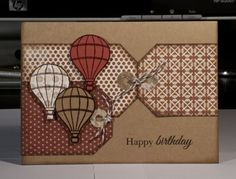 Masculine birthday card by A Page