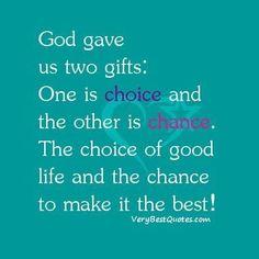 Choice and Chance