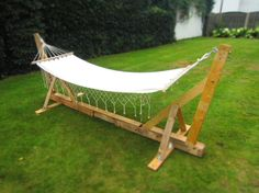 pallet garden swing consruction
