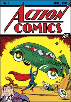 A pristine copy of the original Superman comic has sold for $3.2 million, making it the most expensive comic book ever sold.