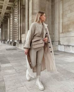 Winter Fashion Outfits, Fall Winter Outfits, Look Fashion, Autumn Winter Fashion, Spring Outfits, Trendy Outfits, Cute Outfits, Womens Fashion, Fashion Trends