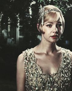 the great gatsby movie 2013 but it dose remind me of the sceane in the freind that daisy finds out she is pregnant for the look on mullagans face is both anger and disterss