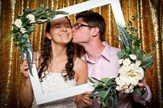 wedding photo booth with Yellow Tie Photo Booth! Yellow Ties, Wedding Photo Booth, Wedding Photos, Asheville, Wedding Stationery Pictures, Marriage Pictures, Wedding Shot, Bridal Photography, Wedding Pictures