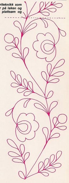 Crewel Embroidery - Long & Short as Soft Shading in Colors - Embroidery Patterns Tambour Embroidery, Hand Embroidery Patterns, Ribbon Embroidery, Beading Patterns, Cross Stitch Embroidery, Machine Embroidery, Mexican Embroidery, Free Motion Quilting, Fabric Painting
