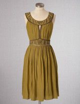Cleo Dress (Antique Gold)