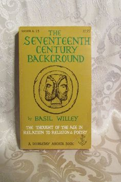 The Seventeenth Century Background Paperback Book by Basil Willey Religion