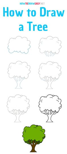 Cute Easy Drawings, Art Drawings Sketches Simple, Colorful Drawings, Drawing For Kids, Art For Kids, Doodle Art For Beginners, Cute Doodles, Drawing Lessons, Step By Step Drawing