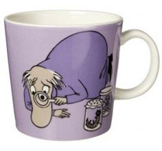 Purple Moomin Mug - Hemulen This item is sold out and no longer available. The iittala Arabia purple Hemulen Moomin mug has Hemulen collecting and inspecting insects and creatures and keeping the.