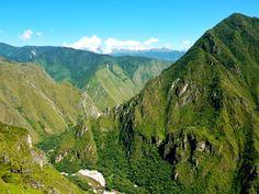 Inca Trail to Machu Picchu landscape Peru