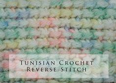 Tunisian Crochet Reverse Stitch