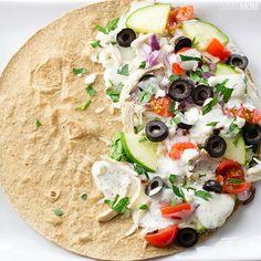 Recipe: Greek Quesadilla Use the lowest carb tortilla?...