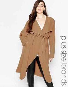 ASOS Plus Size Coat