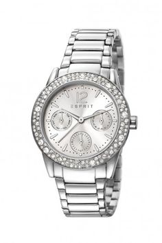 Esprit Elsie Glitz Silver dames horloge ES107152001 | JewelandWatch.com