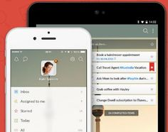 Wunderlist App- allows you to create and share to do lists with family members and friends.  It helps us stay productive in our home!
