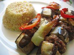 Eggplant Kabob/Patlıcan Kebabı | Turkish Cuisine