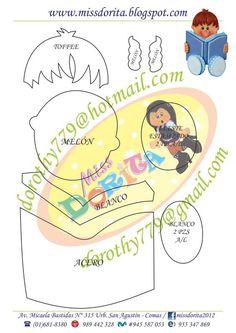 Bonecas em eva com moldes Easy Crafts, Diy And Crafts, Crafts For Kids, Paper Crafts, Felt Animal Patterns, Stuffed Animal Patterns, Diy Notebook, Decorate Notebook, Graduation Crafts