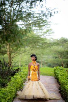 African Traditional Wedding Dress, African Wedding Attire, South African Weddings, Wedding Dress Organza, Wedding Blog, Wedding Ideas, African Beauty, African Dress, Celebrity Weddings