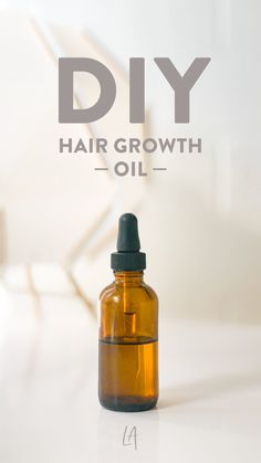 Make your own hair growth oil at home - LAurenrdaniels -