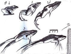 El salto de la rana en notas. [the jump ...  By Sam Gonzalez