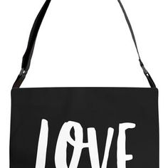 Love is My Religion Adjustable Strap Tote