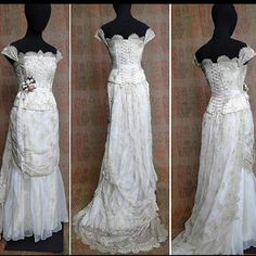 Kahlan Amnell's wedding dress from Legend of the Seeker.  I LOVE THIS DRESS!